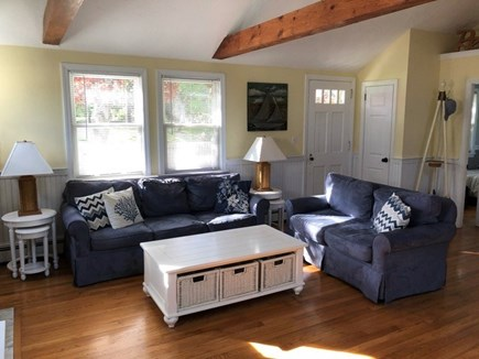 Centerville, Hyannis Port Cape Cod vacation rental - Bright and airy living room with vaulted ceilings.
