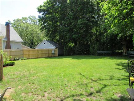 South Yarmouth Cape Cod vacation rental - Large private yard