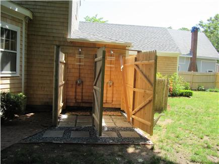 South Yarmouth Cape Cod vacation rental - Outside double shower