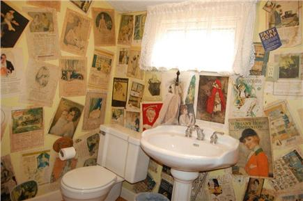 South Yarmouth Cape Cod vacation rental - Downstairs half bath off kitchen