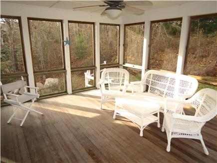 Brewster Cape Cod vacation rental - Relive the day's activities on this big, beautiful screened porch