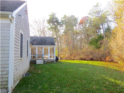 Brewster Cape Cod vacation rental - Yard is big enough that kids can play safely.