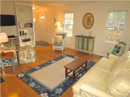 Brewster Cape Cod vacation rental - Open, bright common living space.  This home has central AC