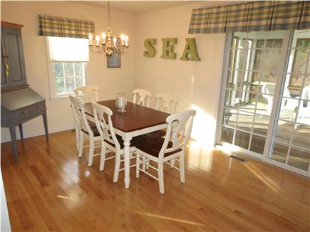 Brewster Cape Cod vacation rental - Appealing open dining area just off the kitchen
