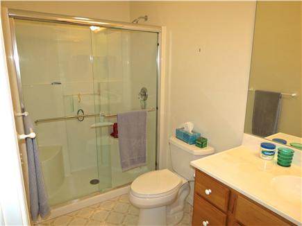 Brewster Cape Cod vacation rental - Private en suite master bath with glass enclosed shower