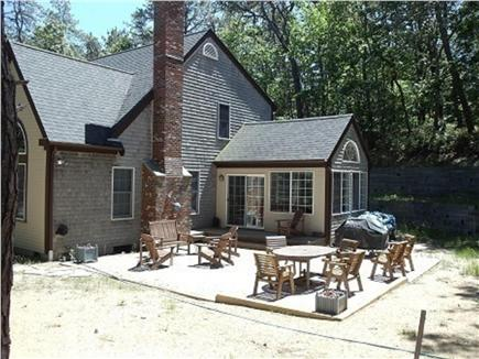 Wellfleet Cape Cod vacation rental - Great Patio with grill