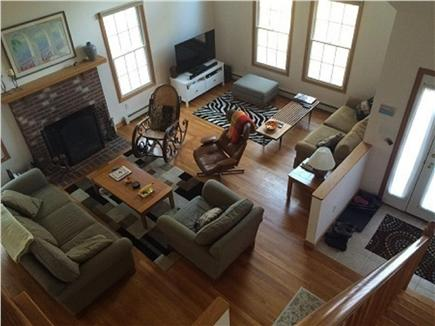 Wellfleet Cape Cod vacation rental - Bright open concept living room