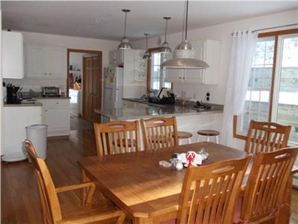 Wellfleet Cape Cod vacation rental - Kitchen Dining Area