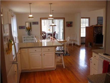 Wellfleet Cape Cod vacation rental - Kitchen to sunroom