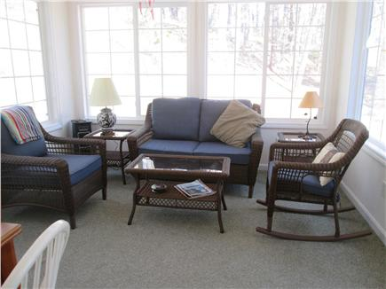 Wellfleet Cape Cod vacation rental - Sunroom