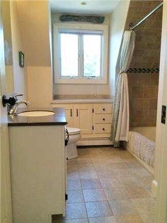 Eastham Cape Cod vacation rental - Upstairs (above garage) full bath.