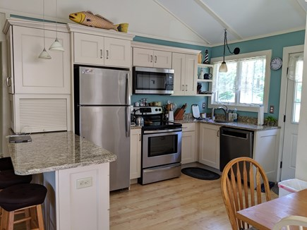 Eastham Cape Cod vacation rental - Newly remodeled kitchen with dishwasher.