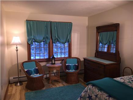 Chatham Cape Cod vacation rental - Seating area in Twin Bedroom