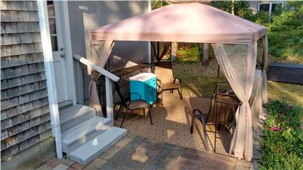 Chatham Cape Cod vacation rental - Gazebo with seating and 4 burner Grill