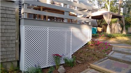 Chatham Cape Cod vacation rental - Backyard Deck and Gazebo