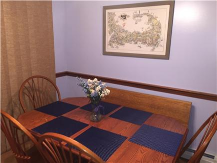 Chatham Cape Cod vacation rental - Kitchen Table with seating for 6
