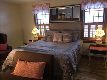 Chatham Cape Cod vacation rental - Master Bedroom 1st Floor access to Master Bathroom &washer/dryer.
