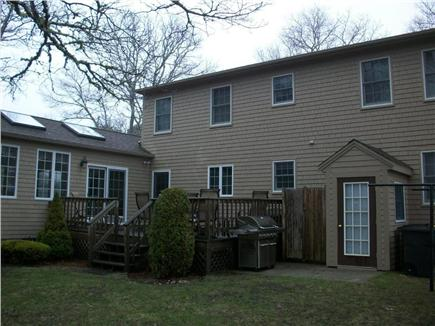 South Yarmouth Cape Cod vacation rental - Big Backyard with Deck and Patio