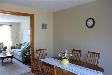 Falmouth Cape Cod vacation rental - Dining table in kitchen