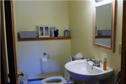 Falmouth Cape Cod vacation rental - 1/2 bath, lower level