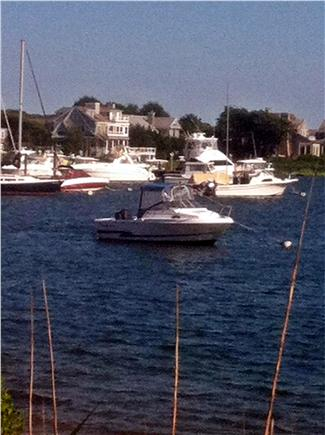 Falmouth Cape Cod vacation rental - View of Marina at end of streeti
