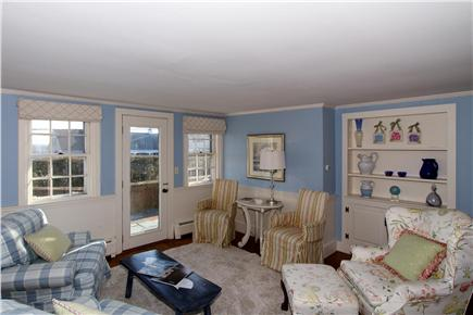 Chatham Cape Cod vacation rental - Living area off kitchen and dining areas