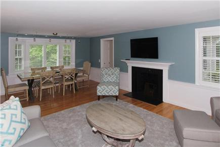 Chatham Cape Cod vacation rental - Beautifully furnished living space open to dining area