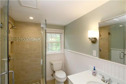 Chatham Cape Cod vacation rental - 2nd floor guest bathroom
