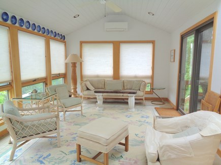 Wellfleet Cape Cod vacation rental - Sunroom With Split Level AC Unit