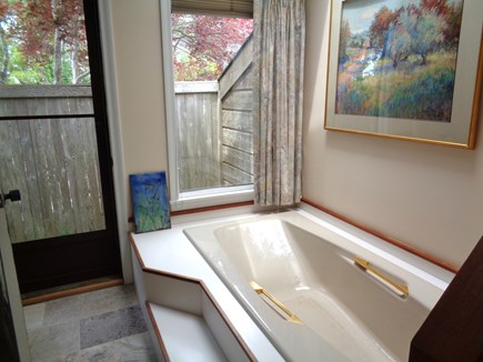 Wellfleet Cape Cod vacation rental - Huge Tub In Huge Master Bath
