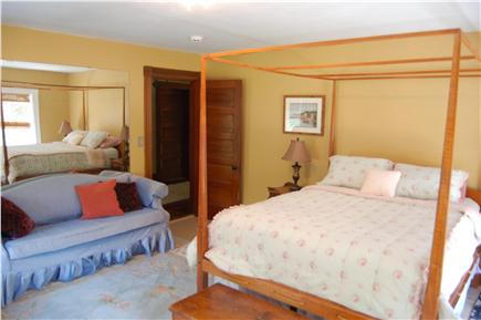 Barnstable Cape Cod vacation rental - Upstairs queen room with double sofa bed.