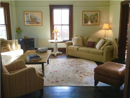 Barnstable Cape Cod vacation rental - Large living room with plenty of seating