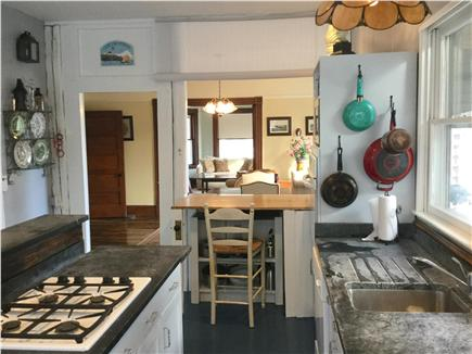 Barnstable Cape Cod vacation rental - Kitchen with view toward dining area