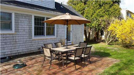 Falmouth Cape Cod vacation rental - Patio