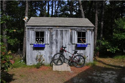 Wellfleet Cape Cod vacation rental - Bike and Boating Shed