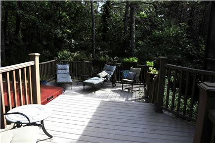 Wellfleet Cape Cod vacation rental - Sun Deck with Hot Tub