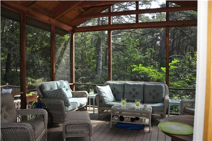 Wellfleet Cape Cod vacation rental - Large Screened in Porch