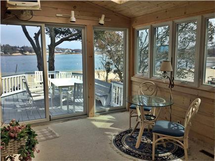 Wareham, Buttermilk Bay / Cohasset Narr MA vacation rental - Sun room