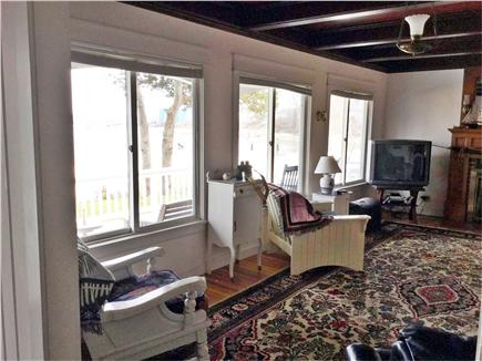 Wareham, Buttermilk Bay / Cohasset Narr MA vacation rental - Living room water view