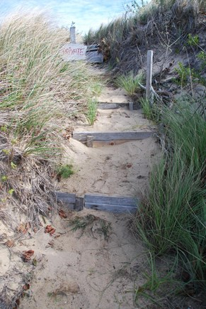 North Eastham Cape Cod vacation rental - Path to private beach