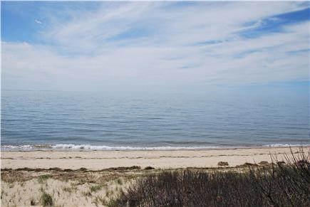 North Eastham Cape Cod vacation rental - View over Cape Cod Bay; enjoy the sandy beach during high tide