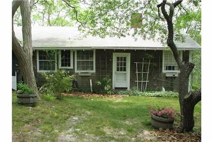 Truro Cape Cod vacation rental - From the front...