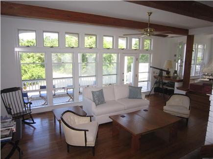 Brewster Cape Cod vacation rental - Sunken Living Area