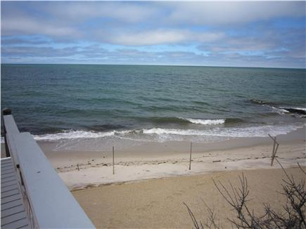 Brewster Cape Cod vacation rental - Right side of stairs is your private beach area