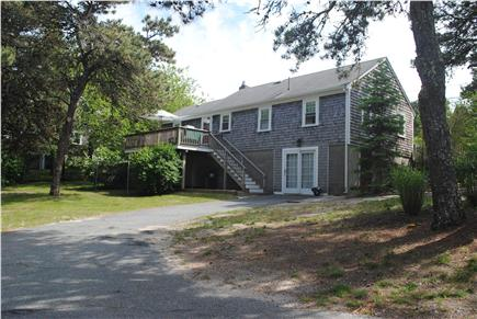 South Chatham Cape Cod vacation rental - Back Deck and Yard