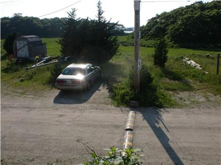 Mattapoisett MA vacation rental - Parking for 4 cars across Cove St.