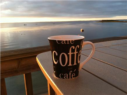 Mattapoisett MA vacation rental - Enjoy morning coffee as the sun rises.