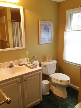 North Truro Cape Cod vacation rental - First floor bathroom with shower