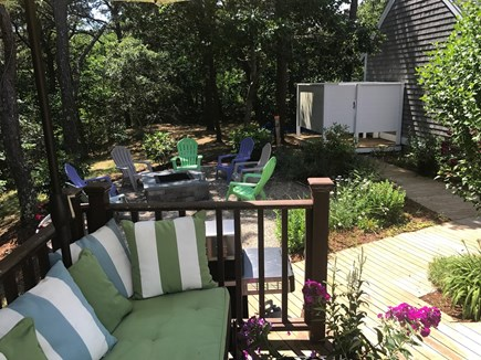 North Truro Cape Cod vacation rental - Read under umbrella; S'mores by firepit; great outdoor shower