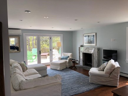 North Truro Cape Cod vacation rental - Gorgeous, comfortable LR.